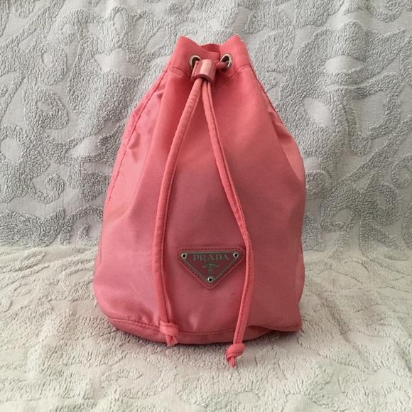 40b6c83e62e1 Prada Bags | Authentic Nylon Mini Drawstring Bag | Poshmark